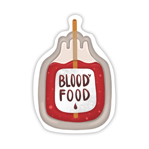 Blood Food Sticker