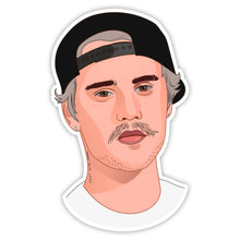 Load image into Gallery viewer, Justin Bieber Sticker
