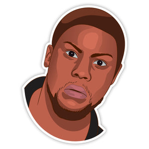 Kevin Hart Sticker