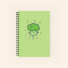 Load image into Gallery viewer, Notebook (Cute Broccoli)