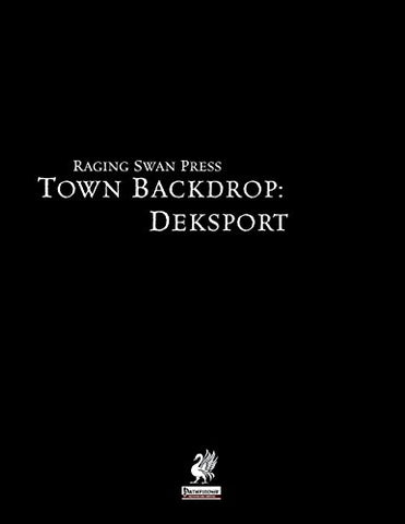 Raging Swan'S Town Backdrop: Deksport