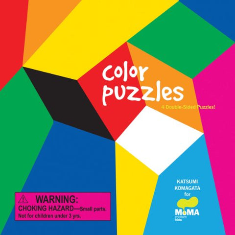 Moma Color Puzzles: 4 Double-Sided Puzzles