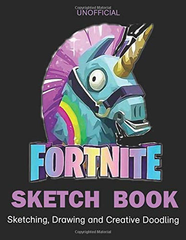 Fortnite Sketch Book.Sketching, Drawing And Creative Doodling: ( Size: 8.5 X 11) 109 Pages, Personalized Artist Sketchbook:  Notebook And Sketch Book To Draw Journal (Unofficial)
