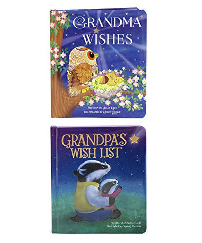 Padded Board Books: Grandma Wishes And Grandpa'S Wish List (Love You Always)
