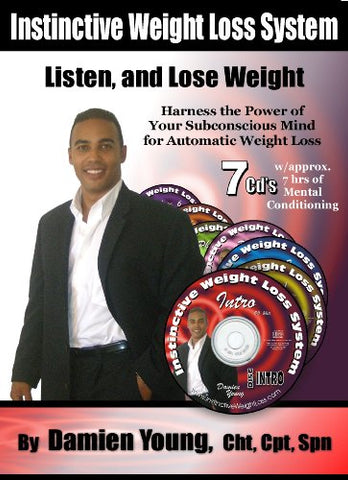 The Instinctive Weight Loss System - New, Groundbreaking Weight Loss Product- 7 Cd'S, Over 7 Hours Of Hypnosis For Weight Loss And Mind Reconditioning Sold In Over 40 Countries Worldwide