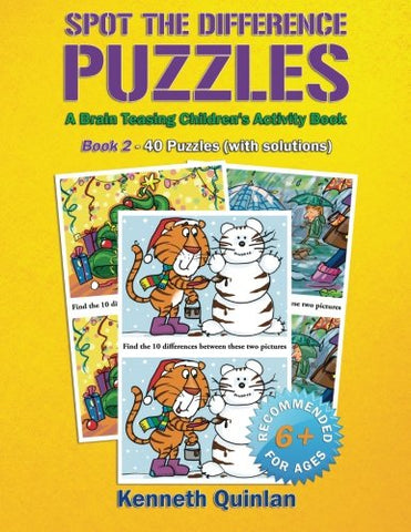 Spot The Difference Puzzles: A Brain Teasing Children'S Activity Book - Book 2 (Volume 2)