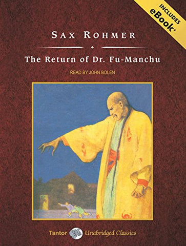 The Return Of Dr. Fu-Manchu, With Ebook