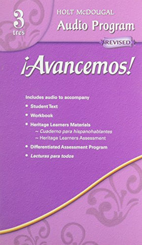 Avancemos!: Audio Cd Program Level 3 (Spanish Edition)