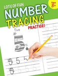 Lots Of Fun Number Tracing Practice!: Learn Numbers 0 To 20!