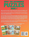 Spot The Difference Puzzles: A Brain Teasing Children'S Activity Book - Book 1 (Volume 1)