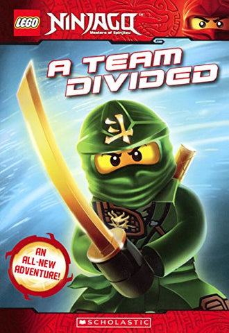 A Team Divided (Turtleback School & Library Binding Edition) (Lego Ninjago)