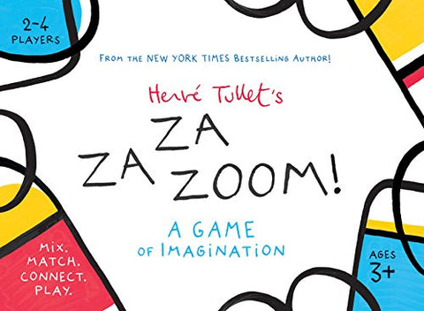 Herv Tullets Zazazoom!: A Game Of Imagination: Mix. Match. Connect. Play.
