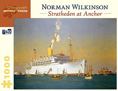 Norman Wilkinson Stratheden At Anchor 1,000-Piece Jigsaw Puzzle (Pomegranate Artpiece Puzzle)