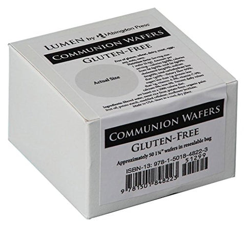 Communion Wafers, Gluten-Free (Box Of 50): Lumen By Abingdon Press