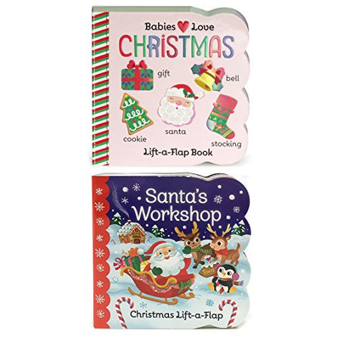Christmas Lift-A-Flap Board Books