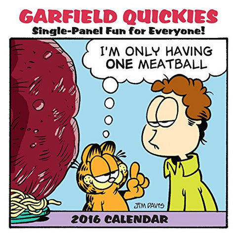 Garfield 2016 Mini Wall Calendar