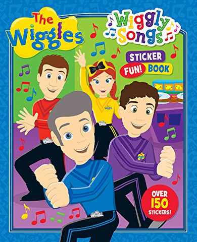 The Wiggles Wiggly Songs Sticker Fun Book