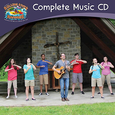 Vacation Bible School (Vbs) 2018 Rolling River Rampage Complete Music Cd: Experience The Ride Of A Lifetime With God!