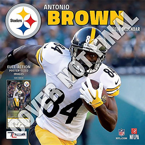 Pittsburgh Steelers Antonio Brown 2019 Calendar