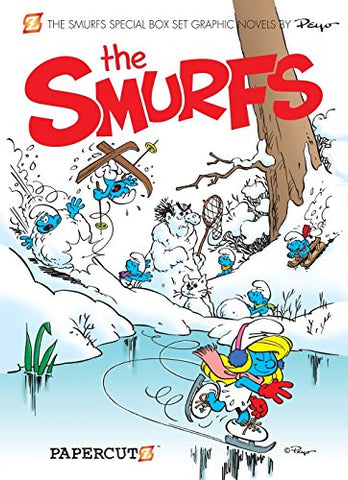 The Smurfs Specials Boxed Set: Forever Smurfette, The Smurfs Christmas, The Smurfs Monsters (The Smurfs Graphic Novels)