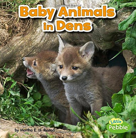 Baby Animals In Dens (Baby Animals And Their Homes)