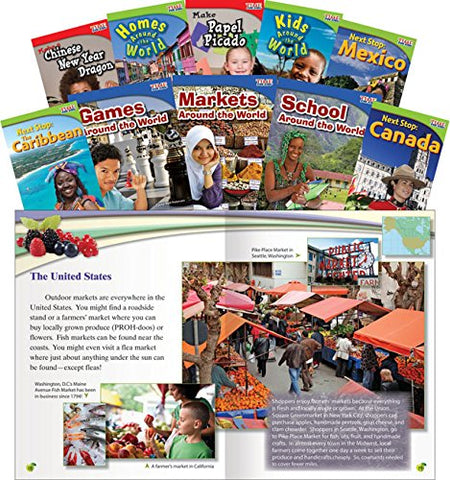People, Places, And Activities Around The World Set (Classroom Library Collections)