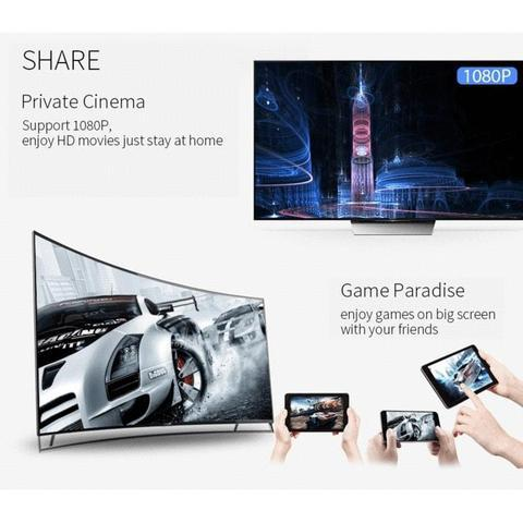MIRACAST AIRPLAY - MIRROR PHONE TO ANY TV