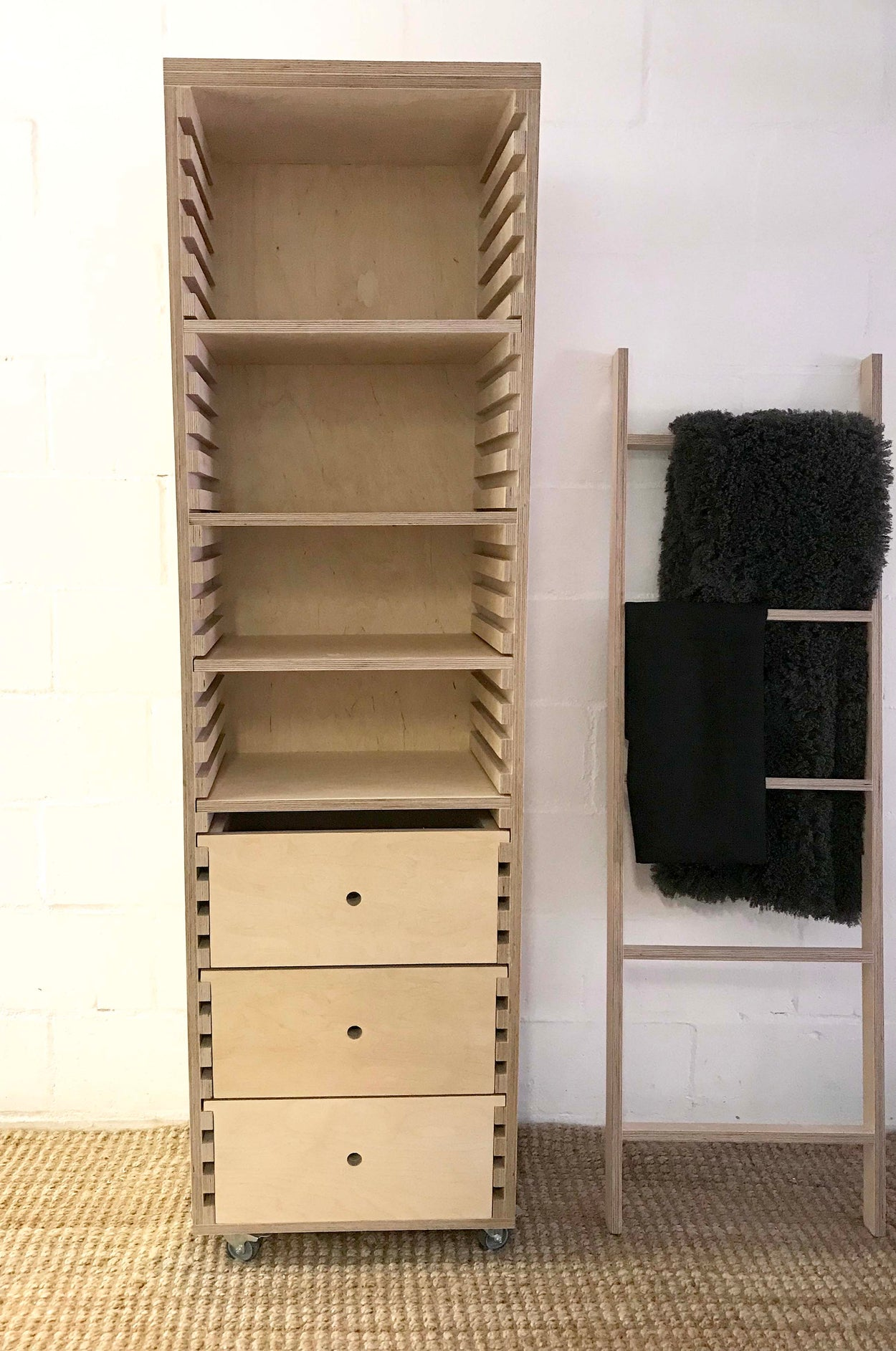 Patterson Shelf and Drawer Unit
