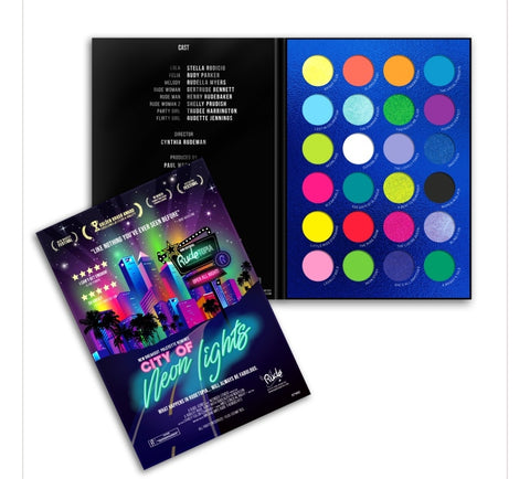 City of Neon Lights - 24 Vibrant Pigment & Eyeshadow Palette