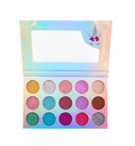 UNICORN DREAM GLITTER EYESHADOW PALETTE