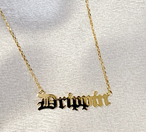 Drippin Gold Dipped Necklace