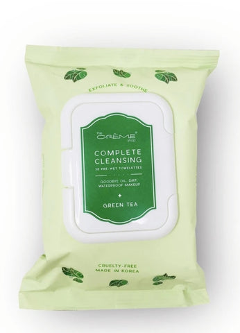 Complete Cleansing Green Tea 60 Pre-Wet Towelettes