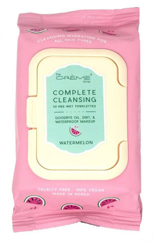 Copy of Complete Cleansing Watermelon 30 Pre-Wet Towelettes