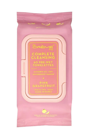 Complete Cleansing Pink Grapefruit 60 Pre-Wet Towelettes