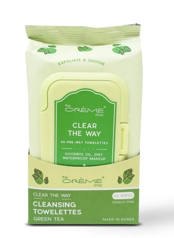Complete Cleansing Green Tea Pre-Wet Towelettes