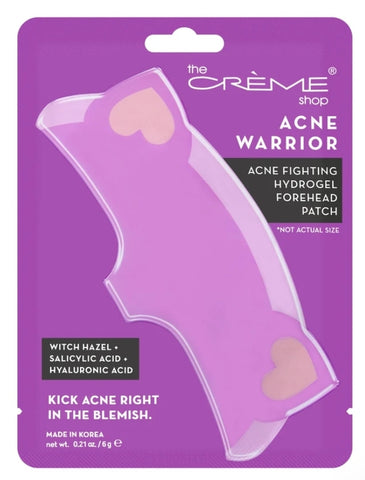 Acne Warrior - Acne Fighting Hydrogel Forehead Patch - Kick Acne Right in the Blemish