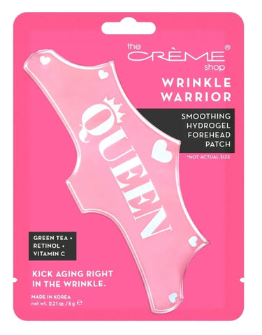 Wrinkle Warrior - Smoothing Hydrogel Forehead Patch - Kick Aging Right in the Wrinkle