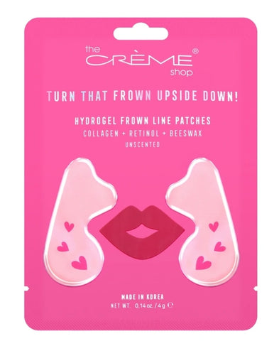 Turn That Frown Upside Down! - Hydrogel Frown Line Patches for Unscented