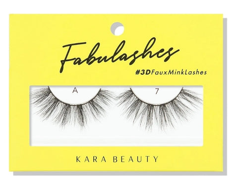 A7 FABULASHES 3D FAUX MINK LASHES  *3 pcs*