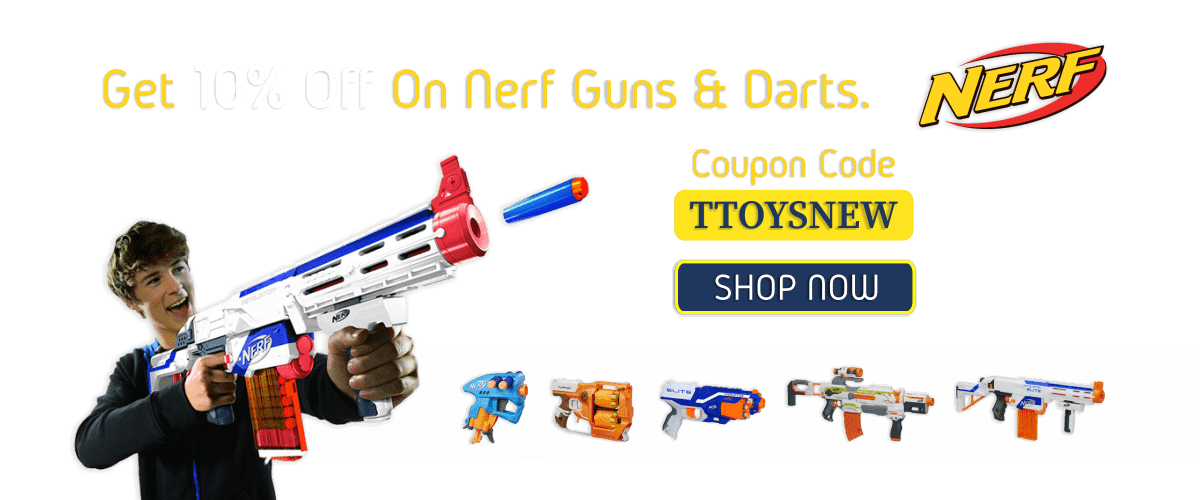 Nerf Guns Offer Slider