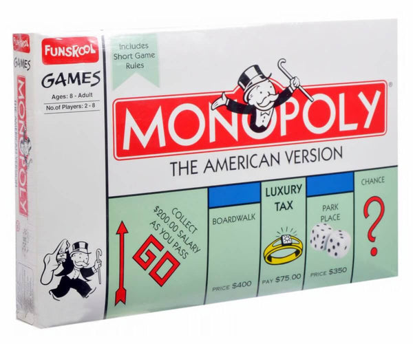 Funskool Monopoly American Edition Board Game 1