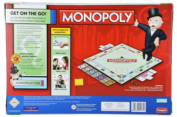 Funskool Monopoly India Edition Board Game 1