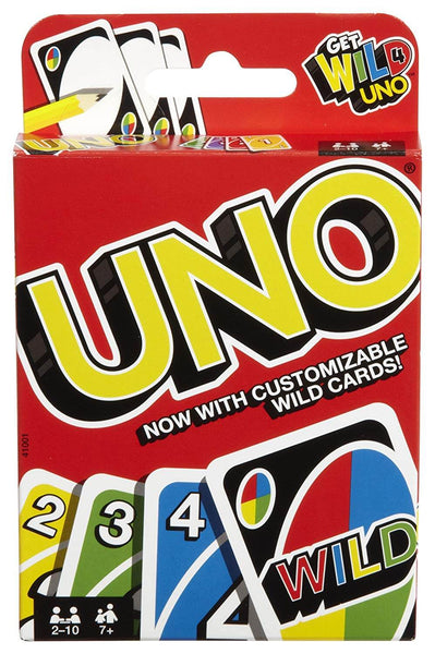 Mattel Uno Original Playing Card Game 1