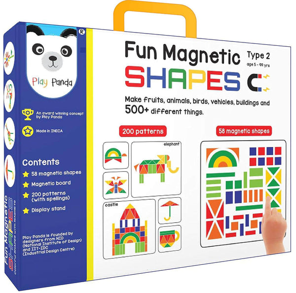Play Panda Fun Magnetic Shapes (Type 2) 1