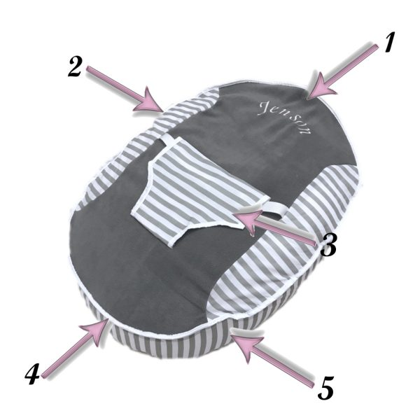Build Your Own Baby Bean Bag - Binded