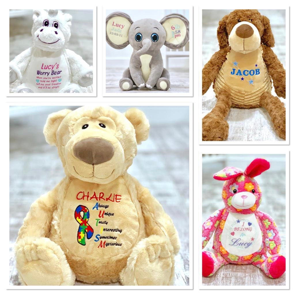 Personalised 'Flossie' Teddy