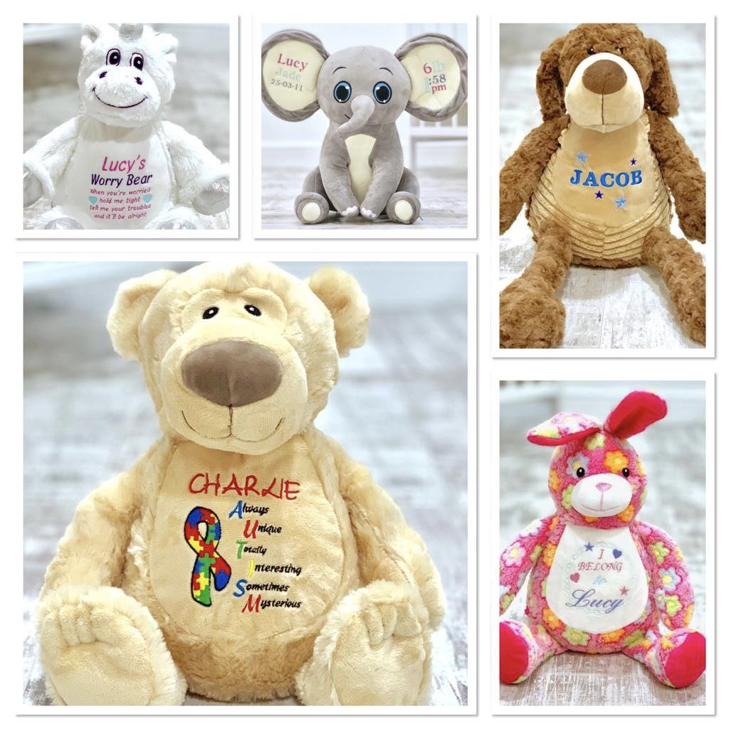 Personalised 'Scorch' Teddy