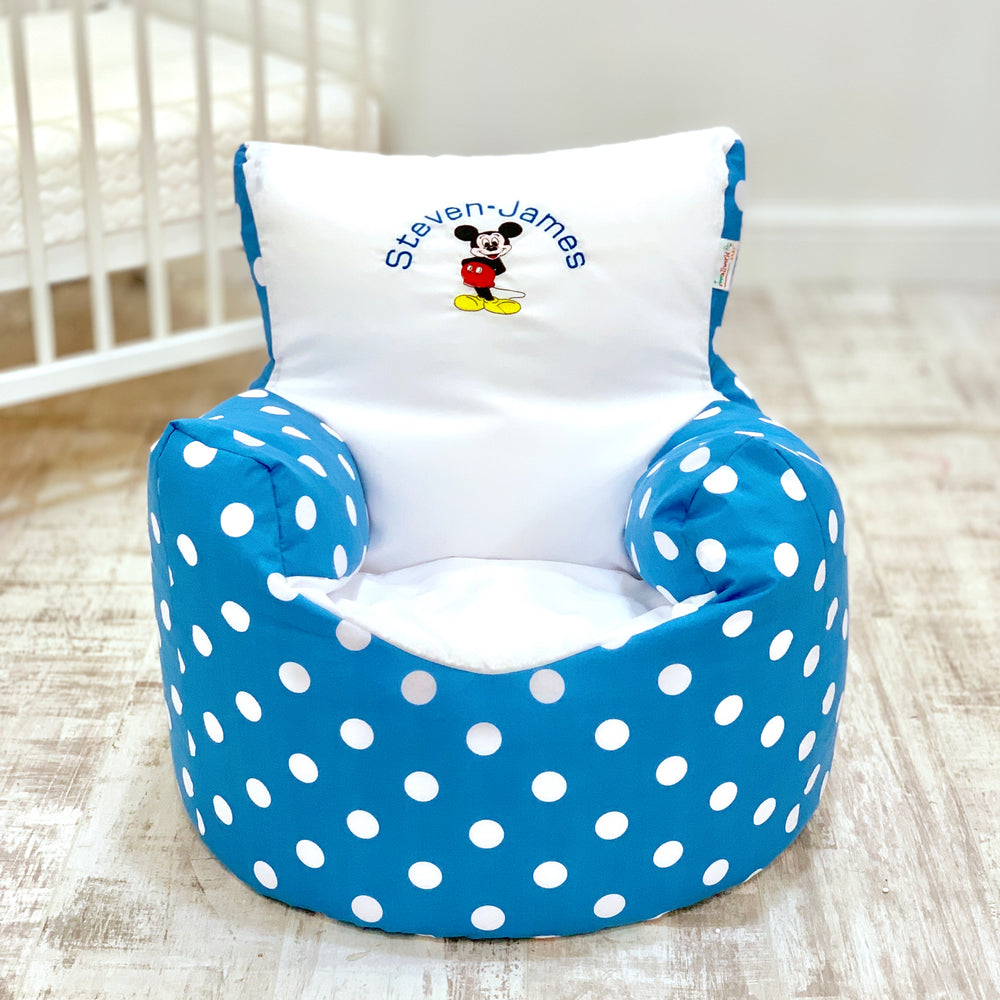 Personalised Mickey Mouse Bean Bag Chair
