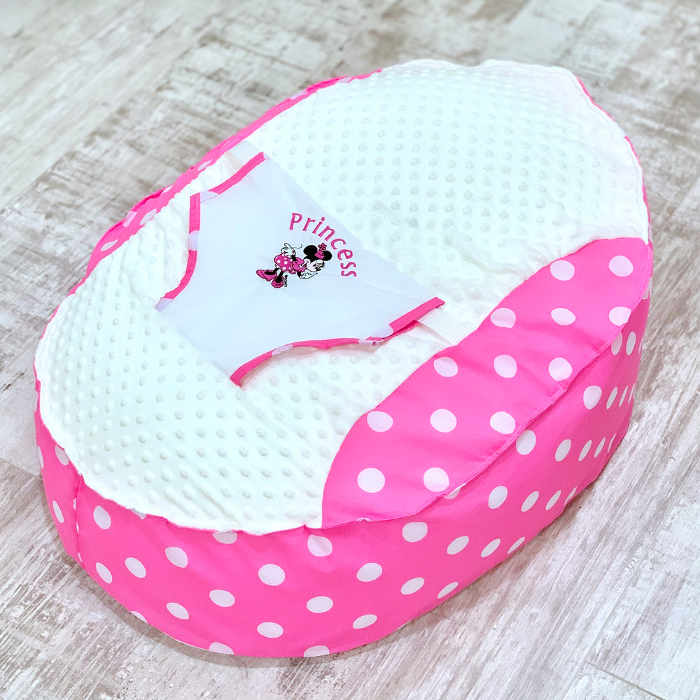 Personalised Minnie Mouse Baby Bean Bag