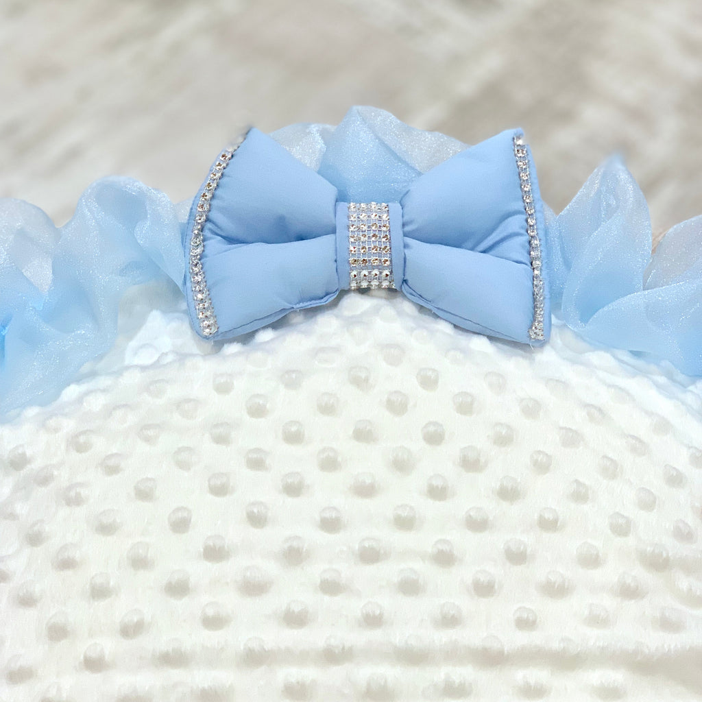 Personalised Blue Bling Baby Bean Bag
